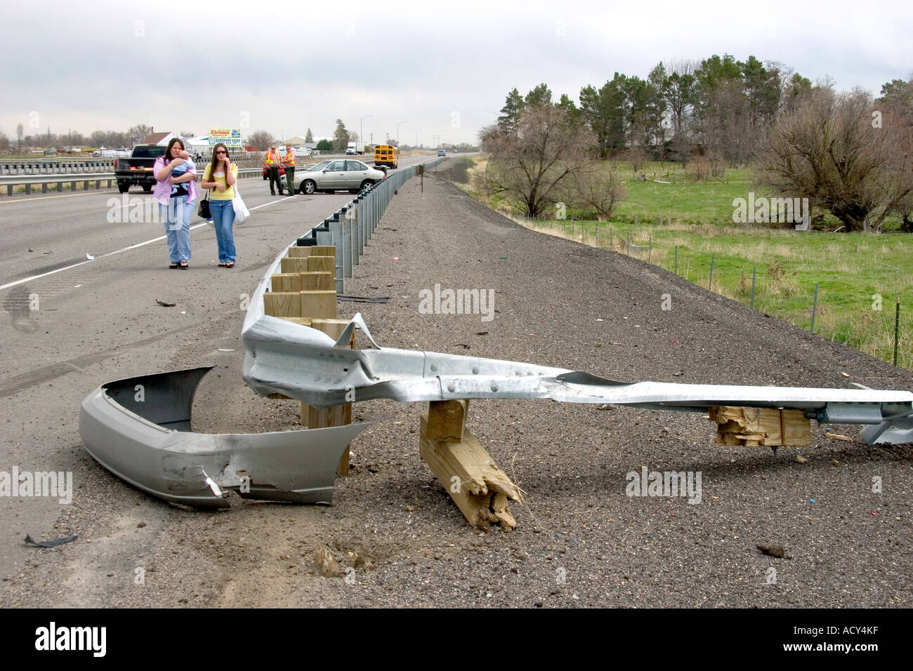 Skid marks accident stock photos