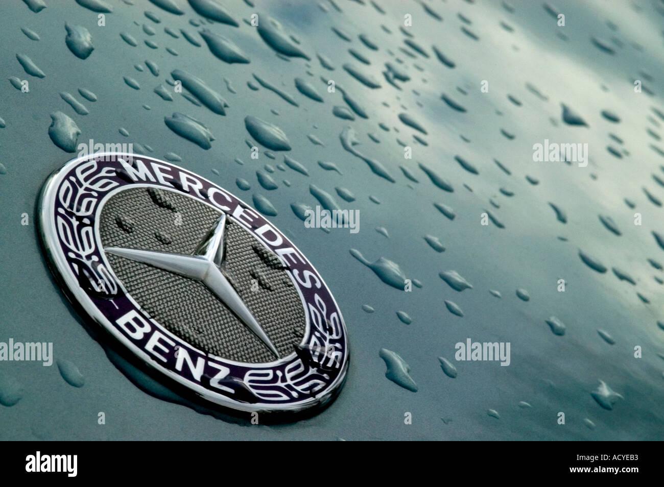 mercedes benz car symbol shine stock photos mercedes benz car