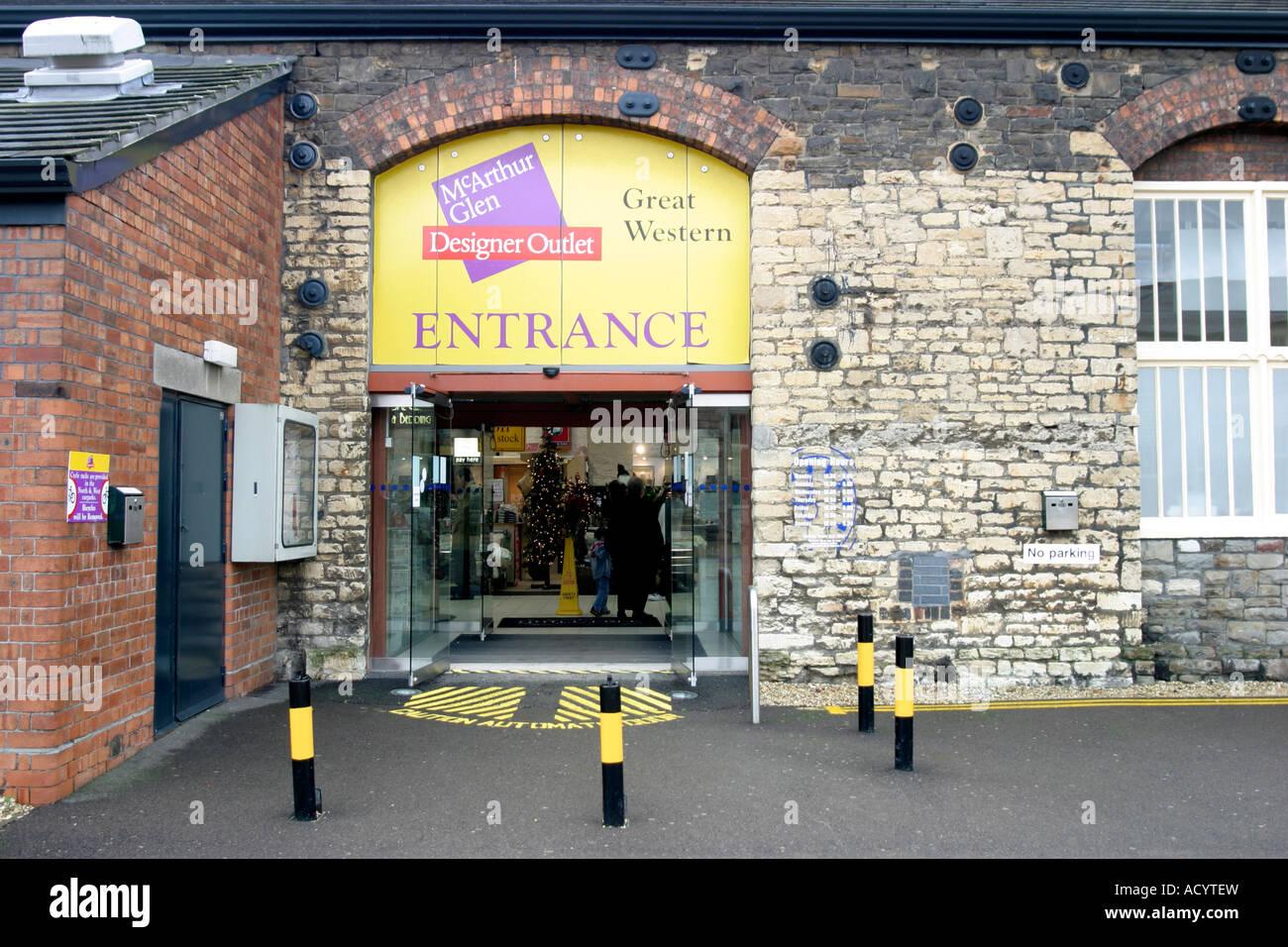 ba740afcf5 27th October 2006 Entrance to the Great Western McArthur Glen Designer  Outlet