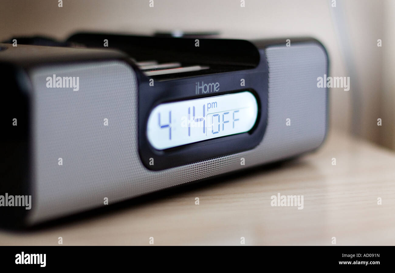 Download Alarm Bedside - clock-radio-alarm-with-ipod-shuffle-dock-on-hotel-bedside-table-AD091N  Picture_139267.jpg