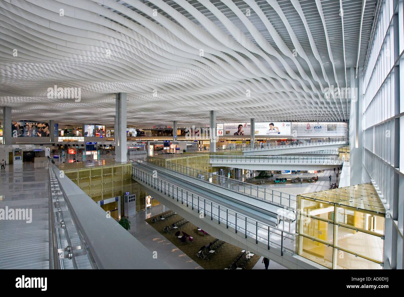Chek Lap Kok airport Terminal 2 Hong Kong - Stock Image