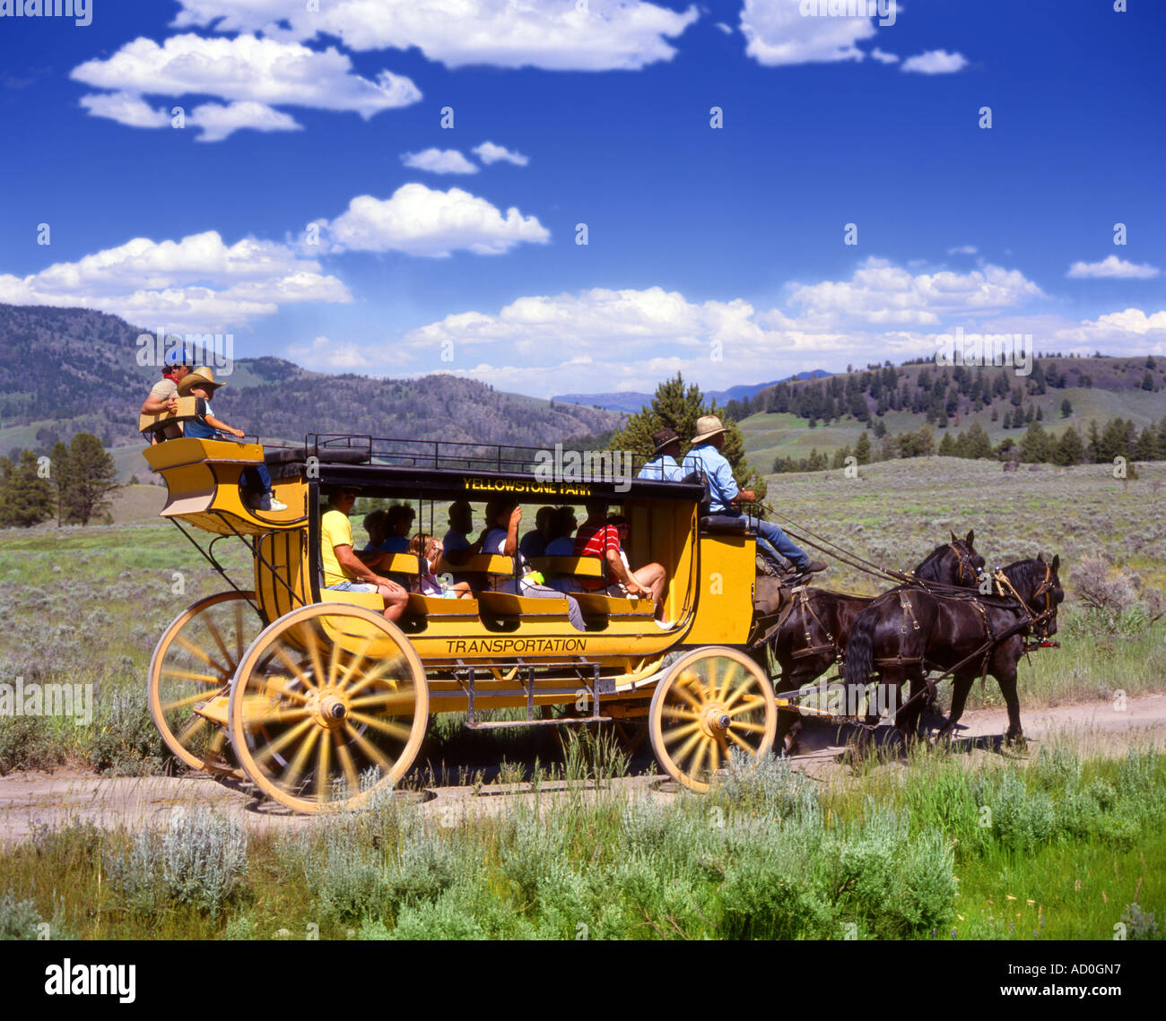 Stagecoach Stock Photos & Stagecoach Stock Images