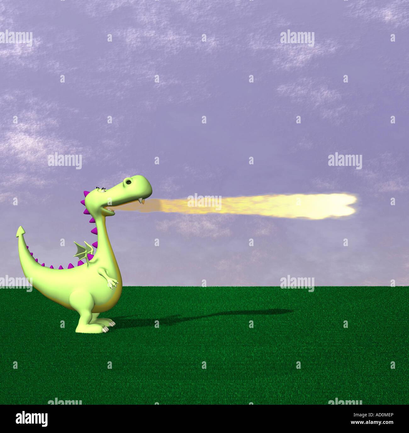 dragon - Stock Image