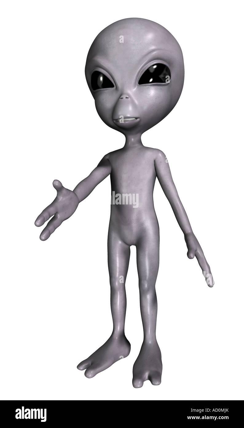alien - Stock Image