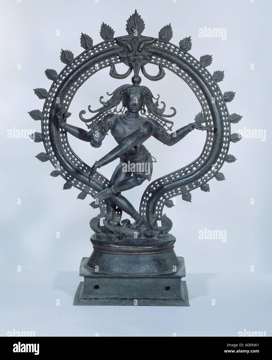 Shiva Nataraja. India, 18th century. - Stock Image