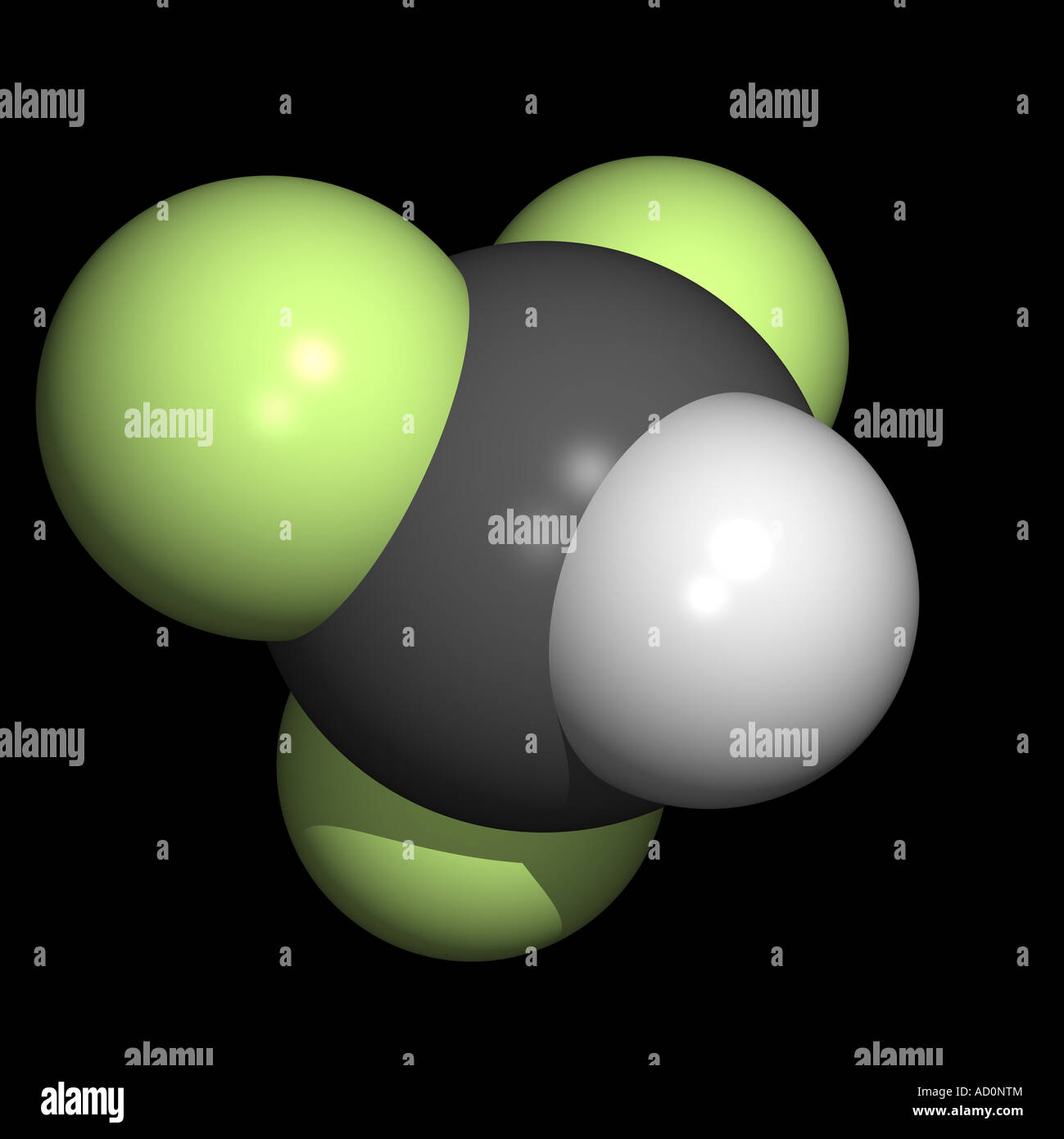 Trifluoromethane Stock Photo