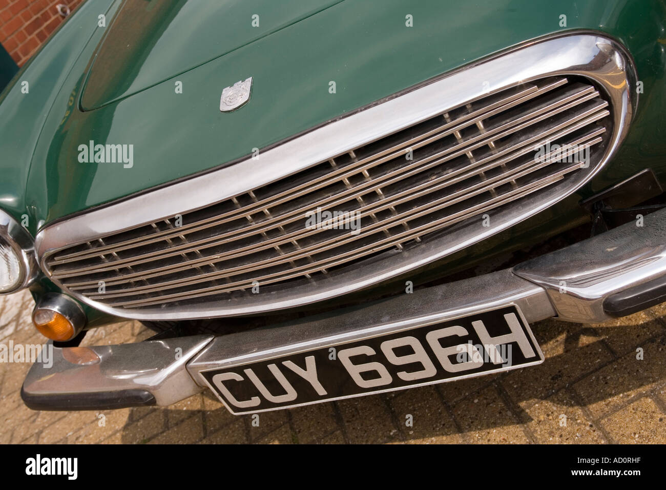 England Bristol Baltic Wharf front of 60s P1800 Volvo The Saint car - Stock Image