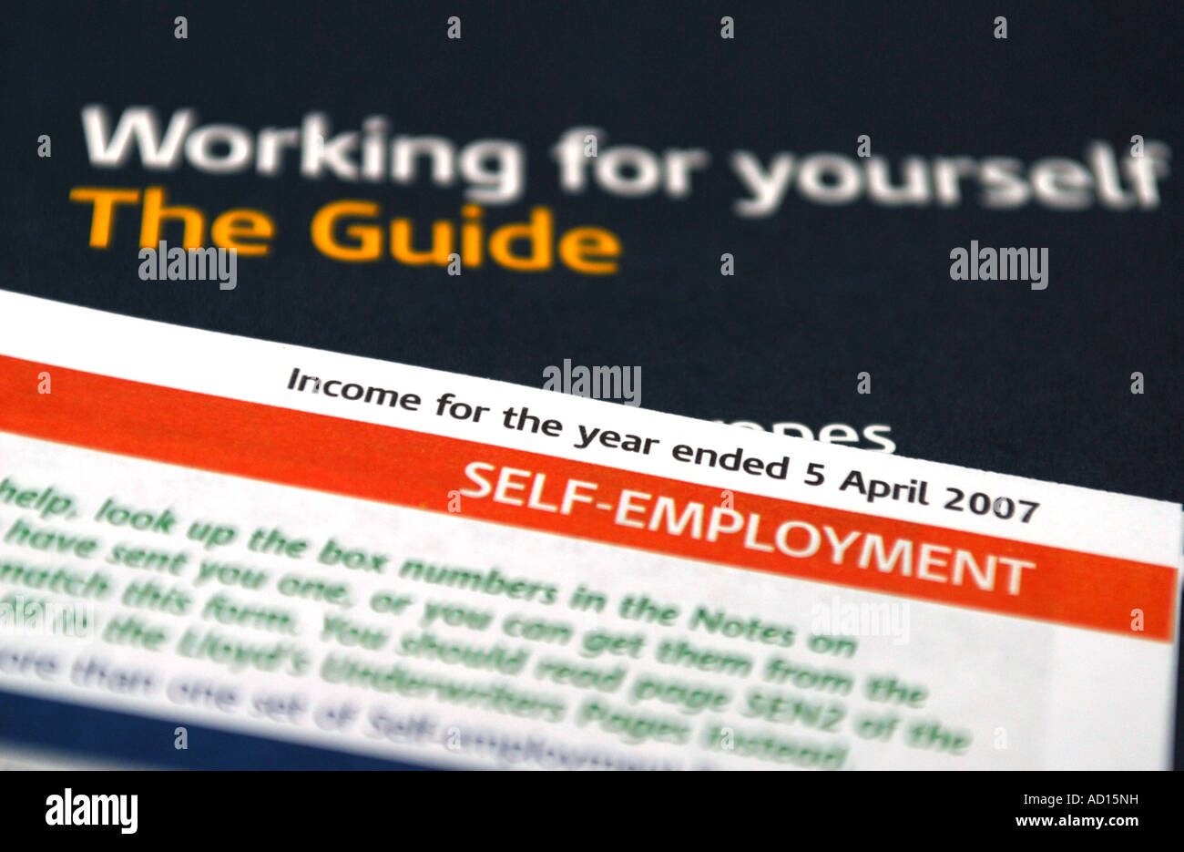 Guides And Forms For The Self Employed To Assist In The Completion