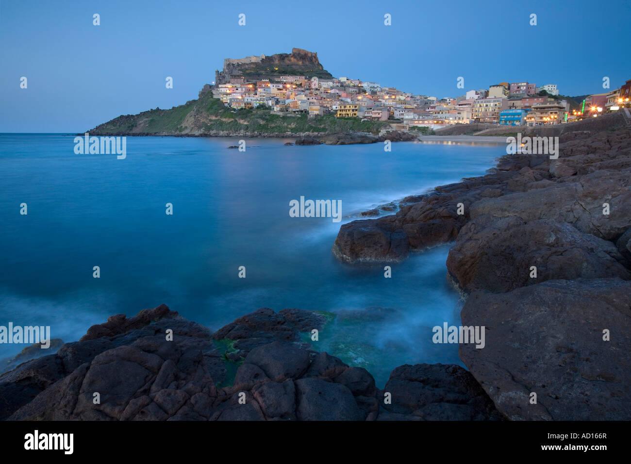 Castelsardo, Sardinia, Italy - Stock Image