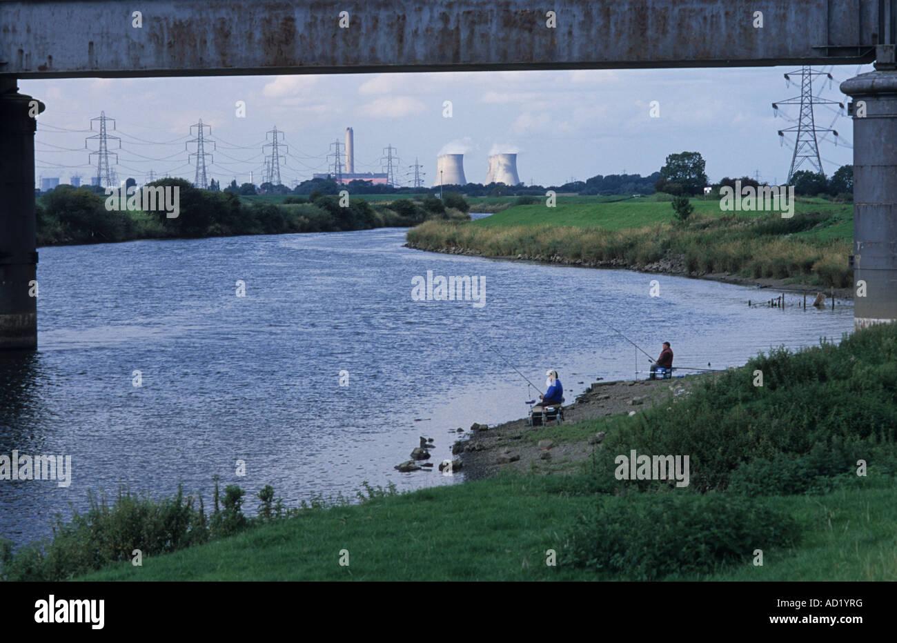 River Trent, North Clifton, Lincolnshire, United Kingdom. - Stock Image