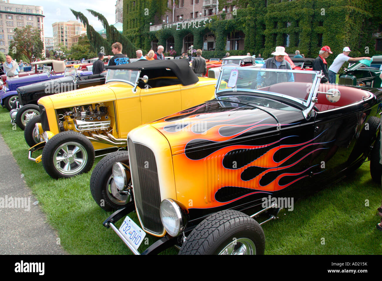 Deuce coupe 75th year anniversary Victoria B.C. - Stock Image