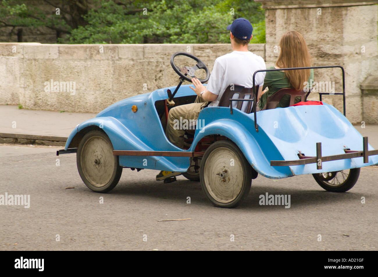 Pedal Car For Grown Ups For Hire In Budapest S Varosliget City Park