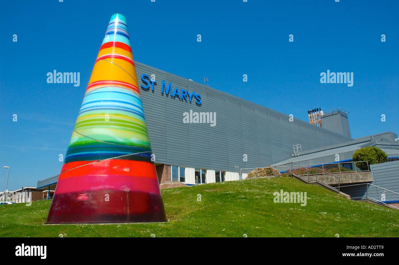 St Marys NHS Hospital, Newport, Isle of Wight, England. - Stock Image