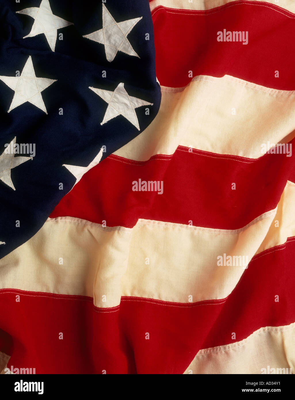 American flag. Stars and Stripes - Stock Image