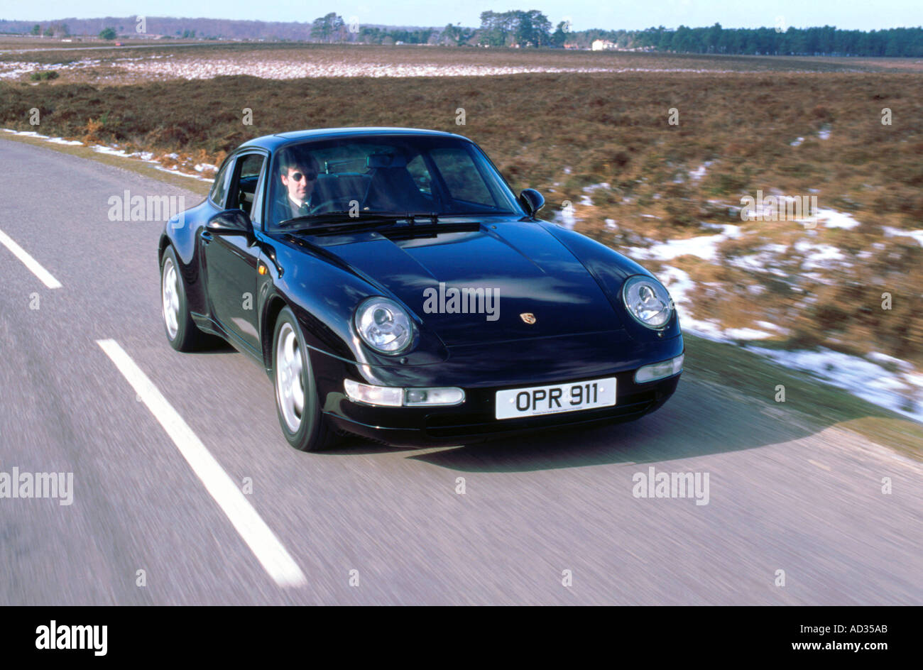 Porsche Car Road Stock Photos Porsche Car Road Stock Images Alamy