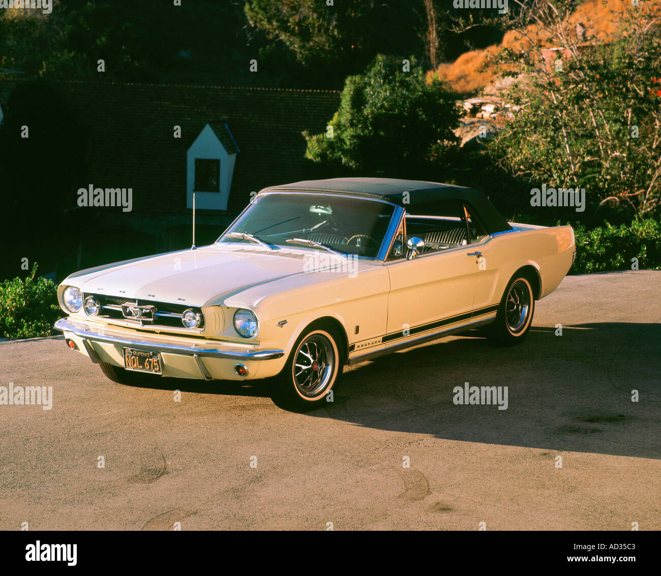 1965 Ford Mustang - Stock Image