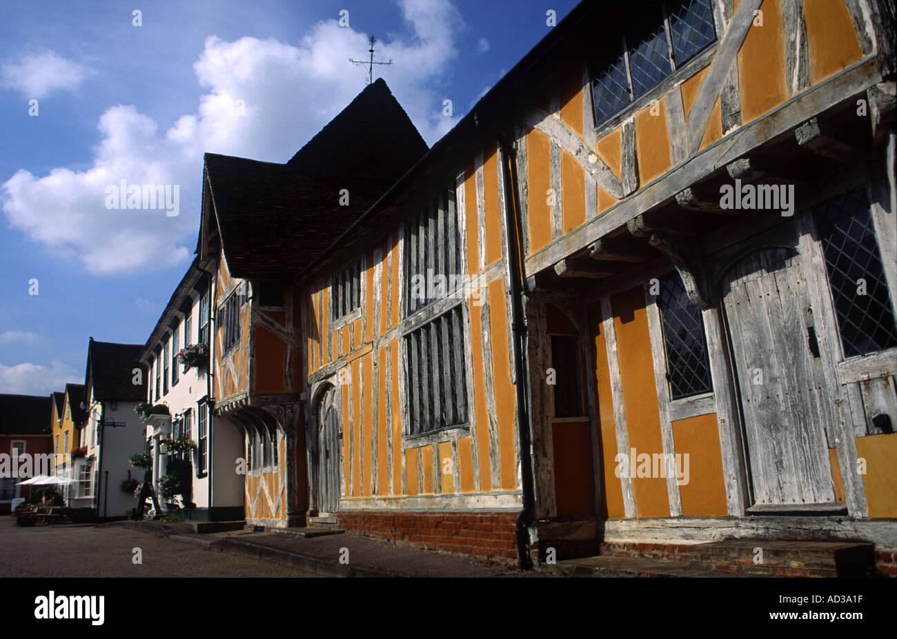 Little Hall Lavenham Suffolk UK - Stock Image