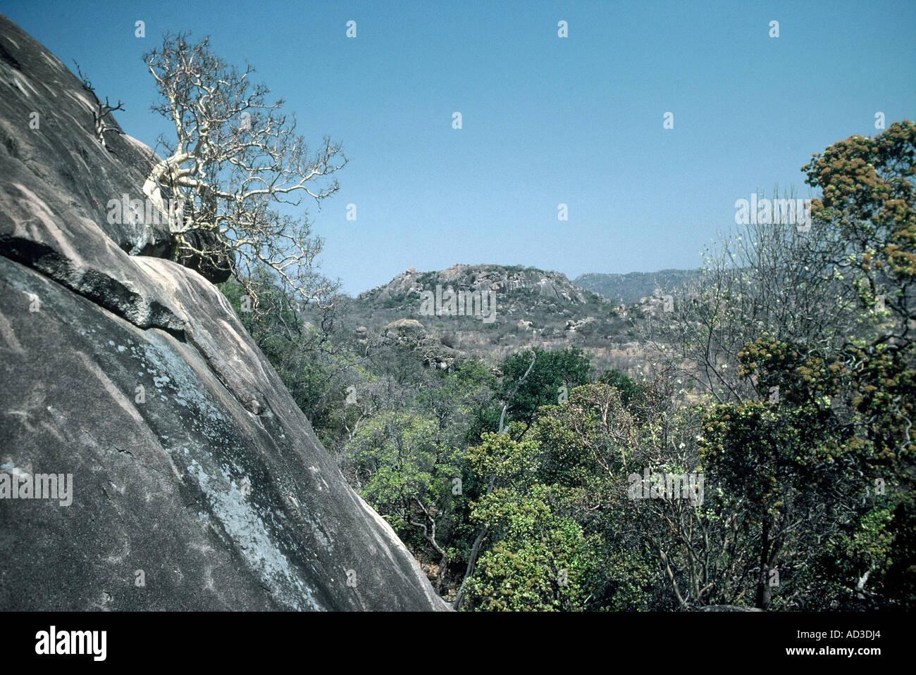 Granite Koppies - Stock Image