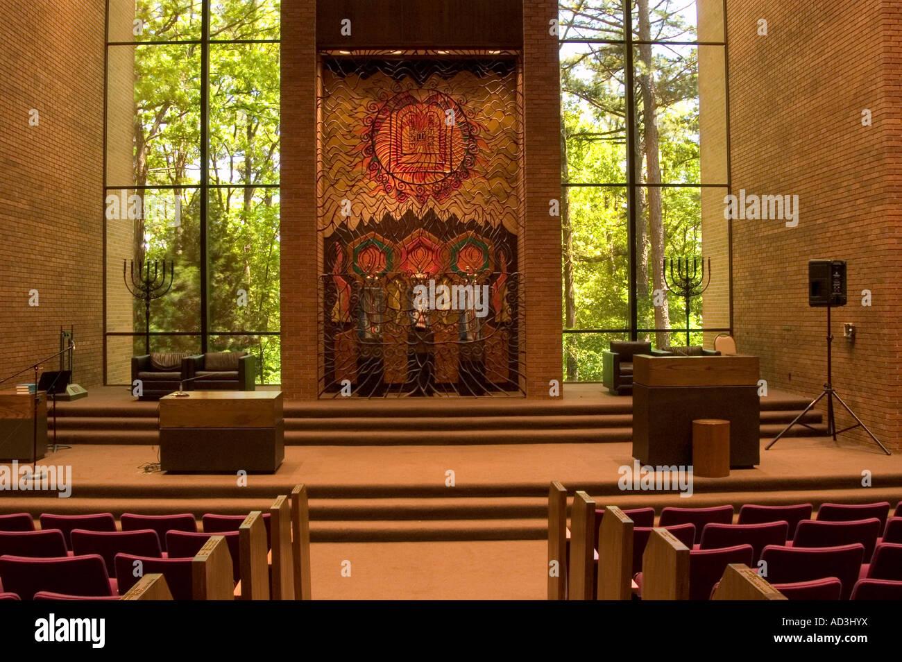 Temple Bnai Israel in Little Rock Arkansas - Stock Image