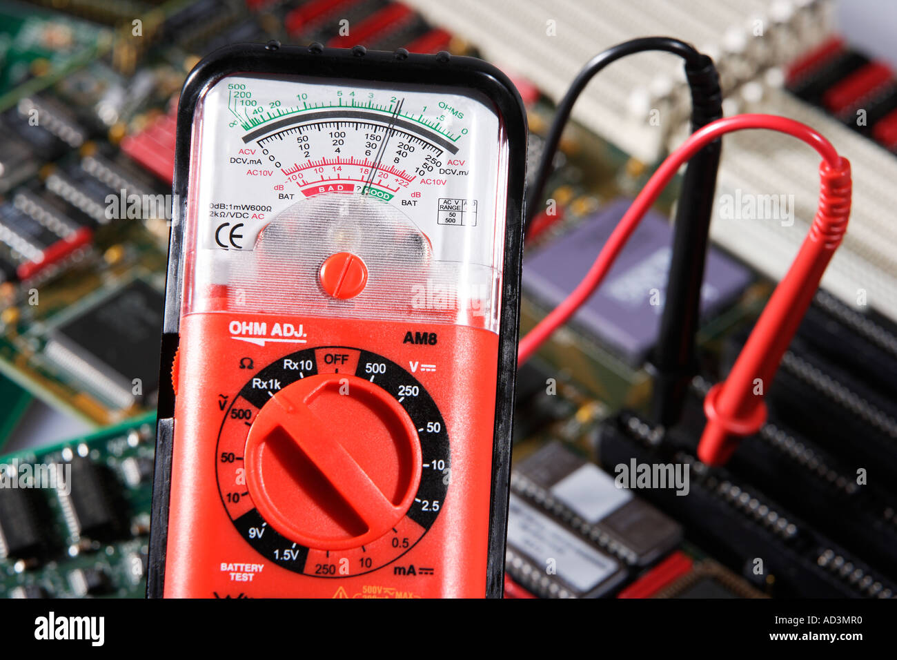Analog Multimeter - Stock Image