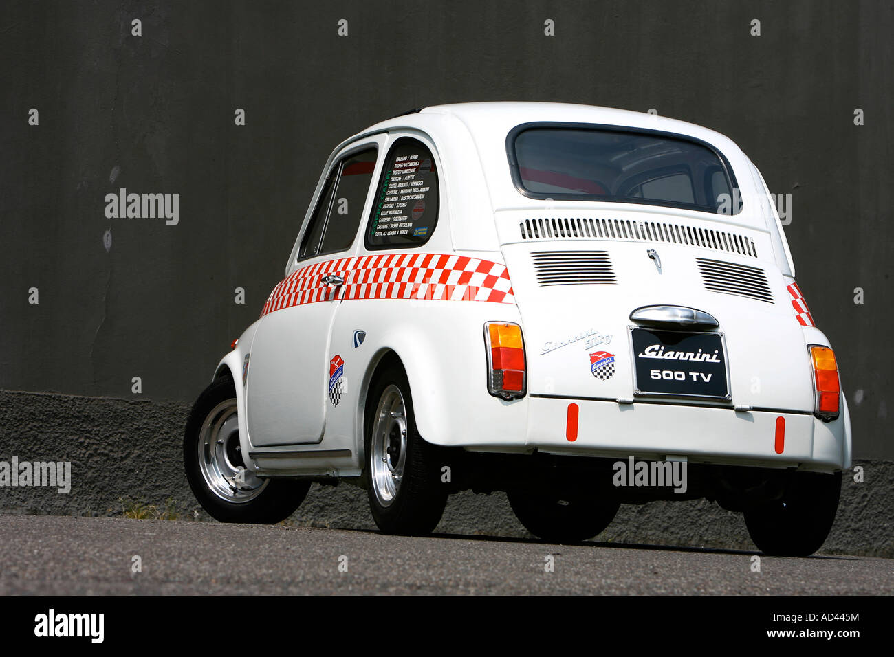 Fiat 500 Giannini Stock Photo 13298047 Alamy