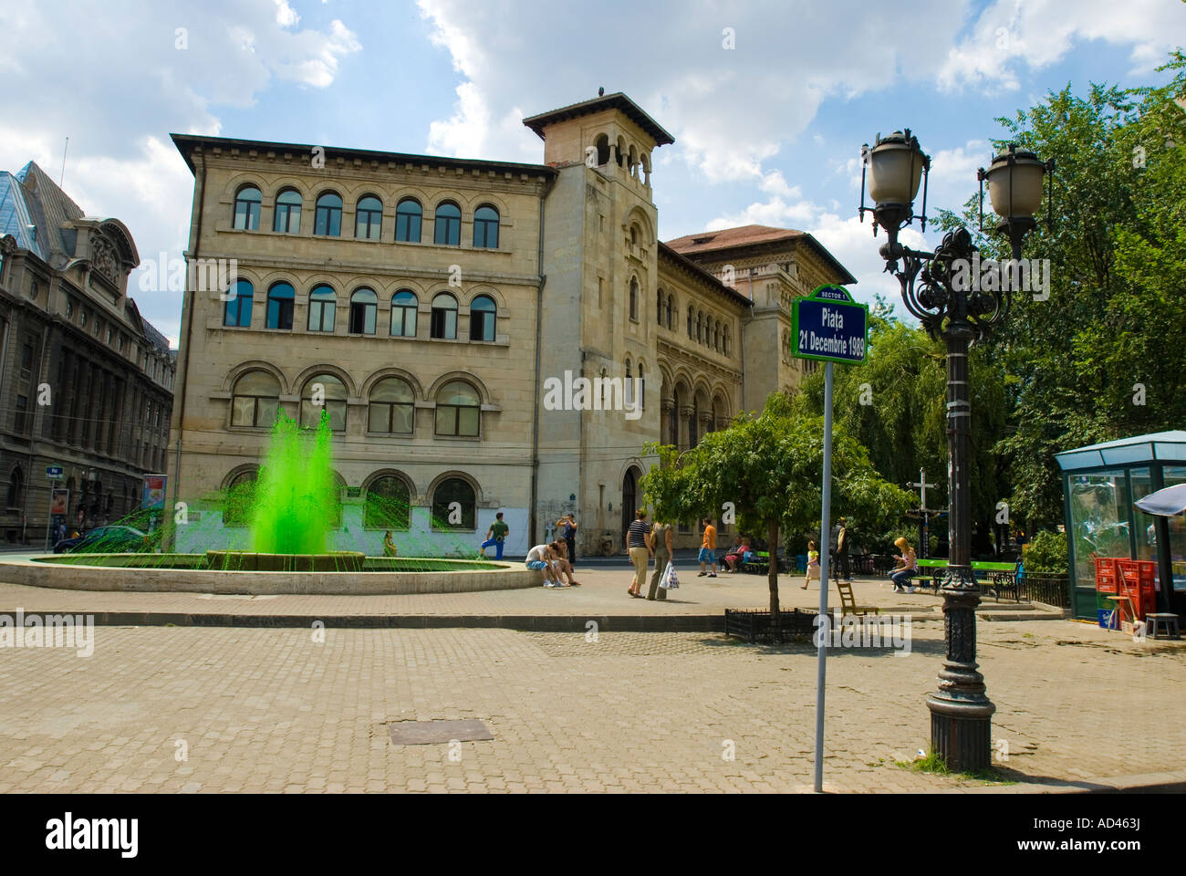Place of the 21st of December 1989, Bucharest, Romania - Stock Image