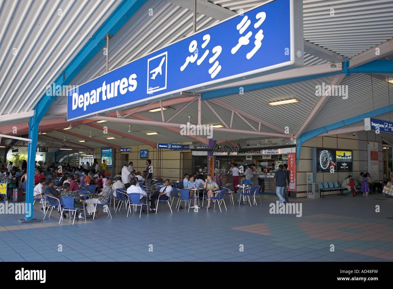 Aeroporto Male Maldive : Malé international airport of the maldives asia stock photo