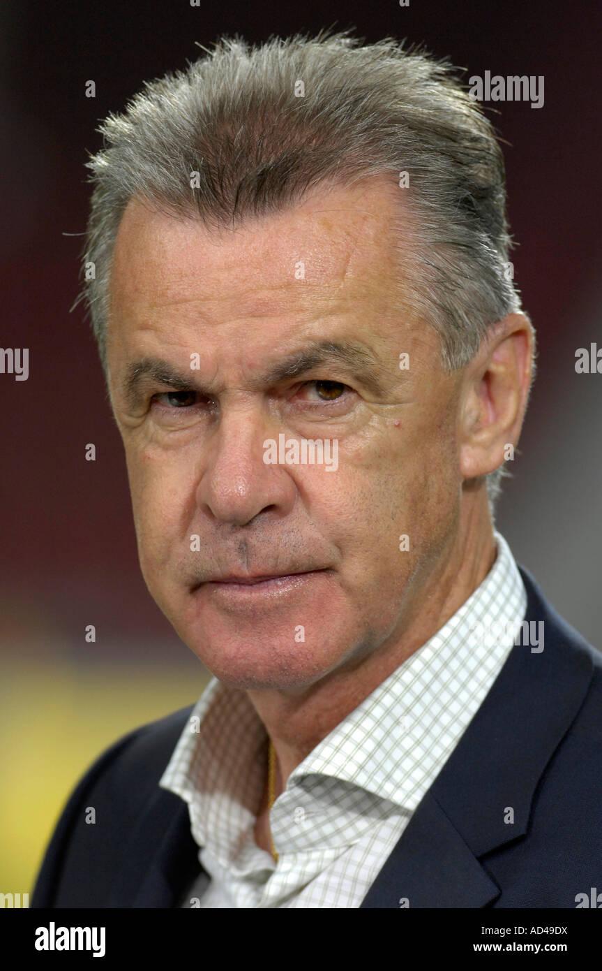 Coach Ottmar HITZFELD FC Bayern Muenchen - Stock Image