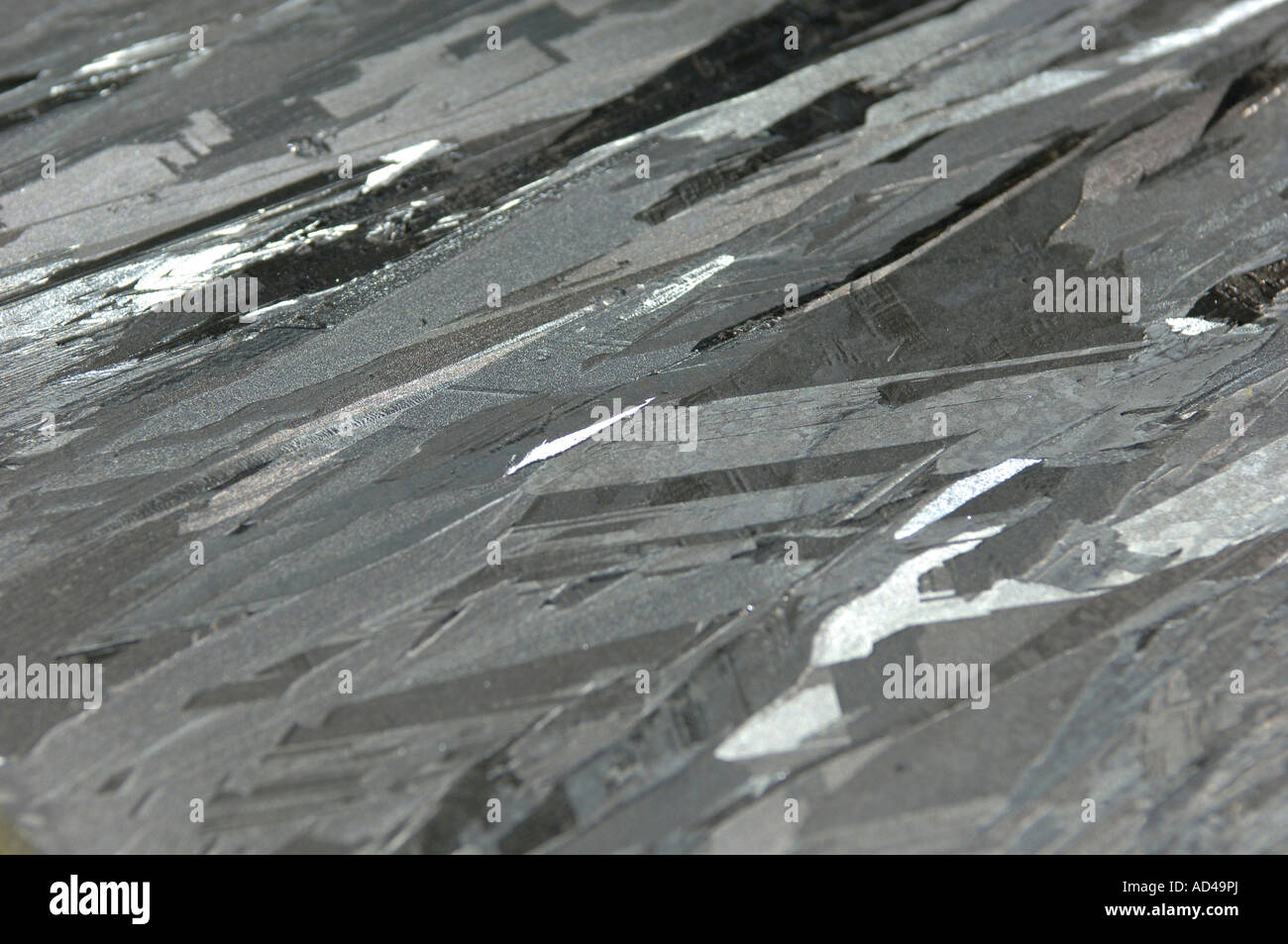 Chemical element Silicon - Stock Image