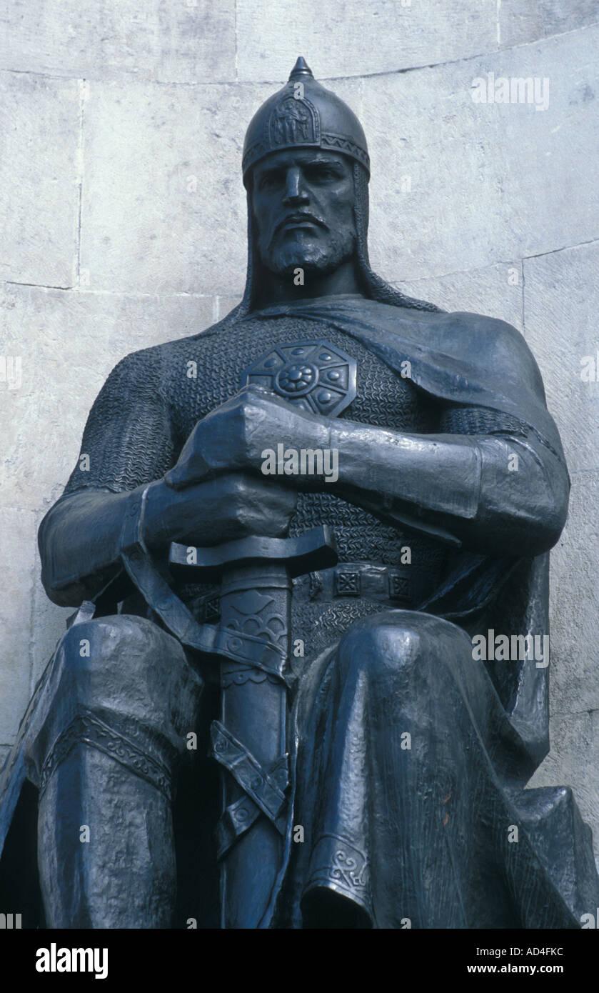 Statue of Grand Prince Vladimir Vladimir Russia - Stock Image