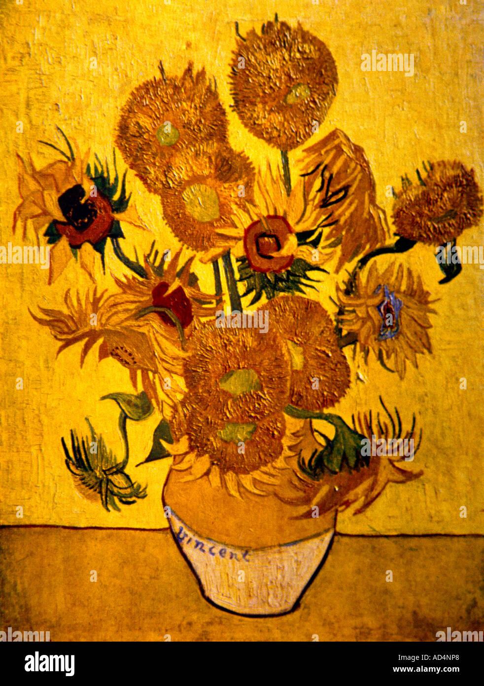 Van Gogh Sunflowers Stock Photos Amp Van Gogh Sunflowers Stock Images Alamy