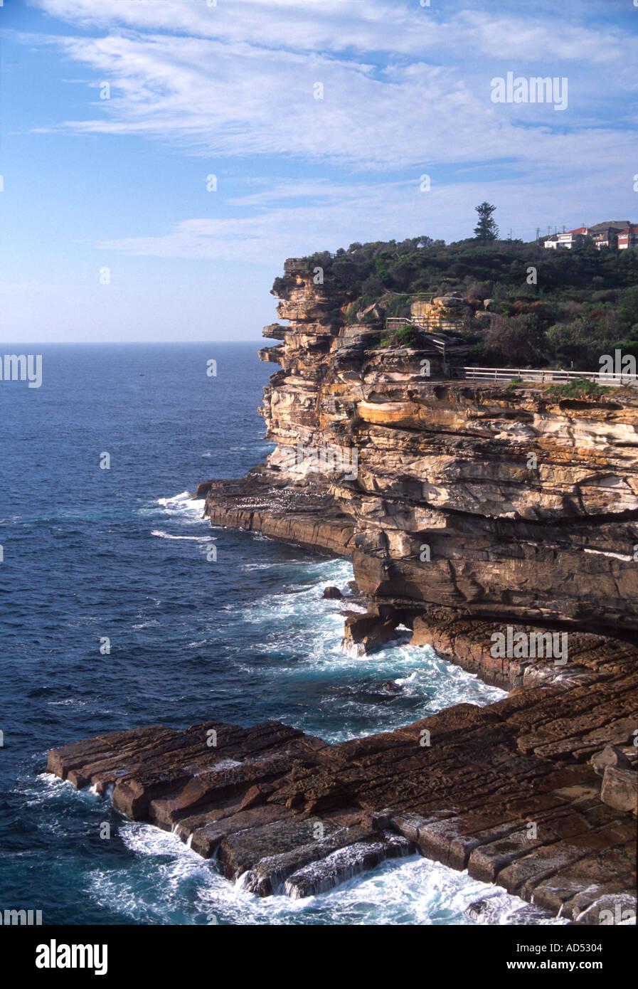 The Gap near Watsons Bay Sydney Australia - Stock Image