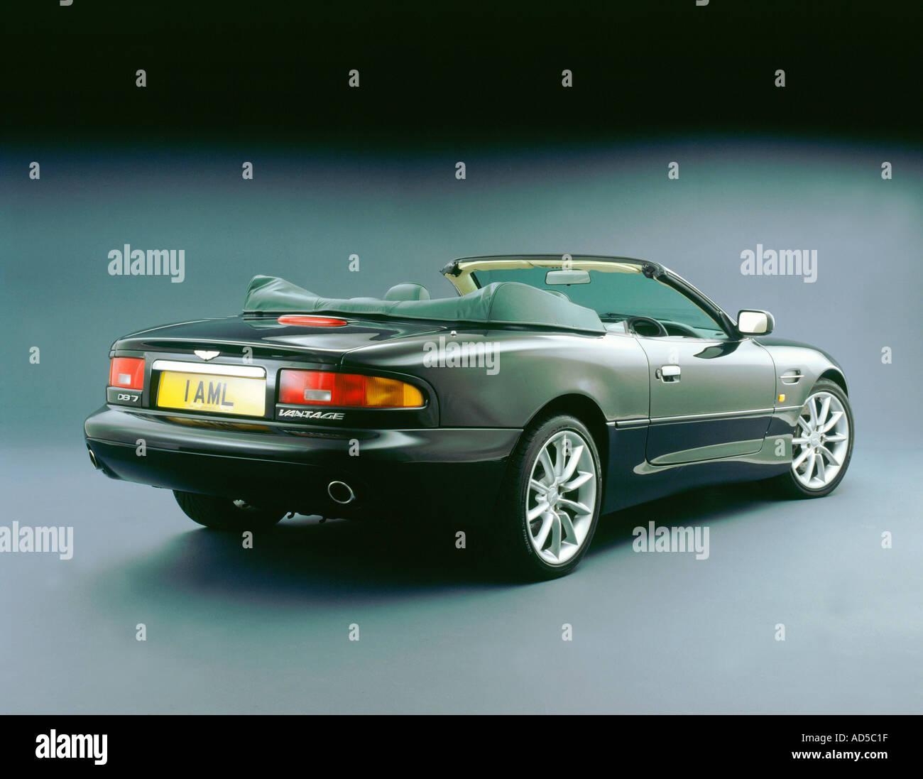 2001 Aston Martin DB7 Vantage V12 - Stock Image