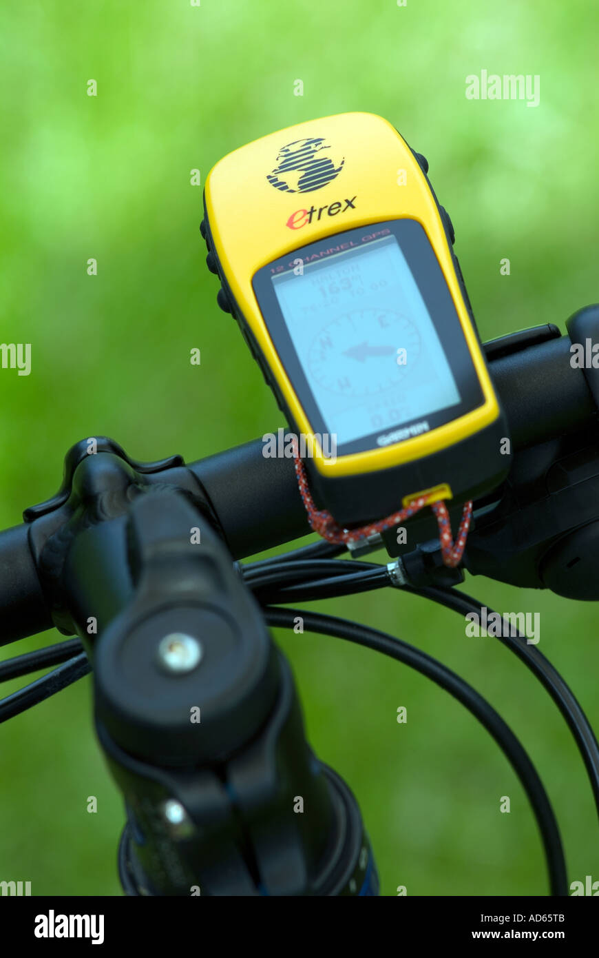 PICTURE CREDIT DOUG BLANE GPS Mountain Biking at the bike park Brickhill Woods Wobrn Sands Stock Photo