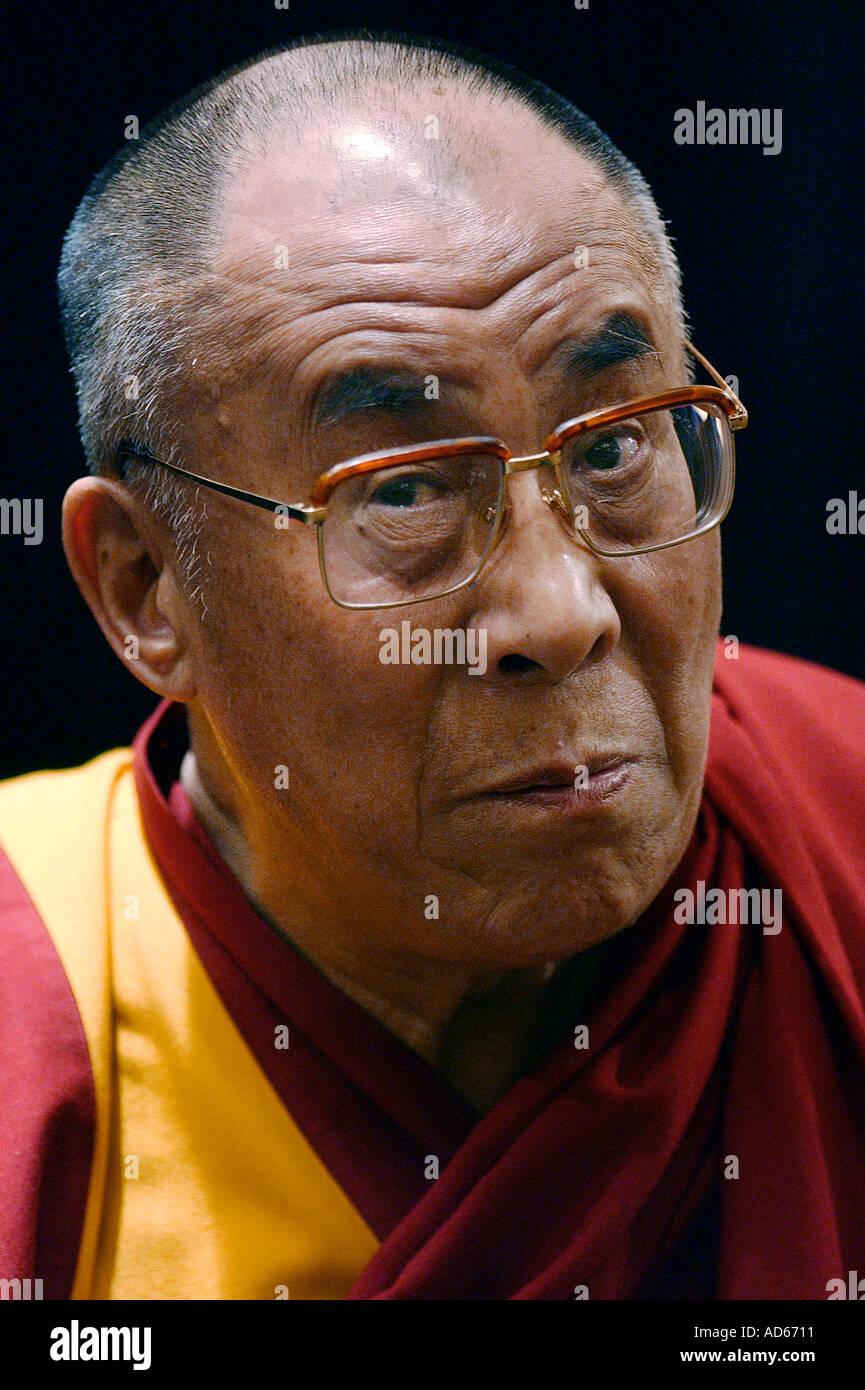 Dalai Lama - Stock Image