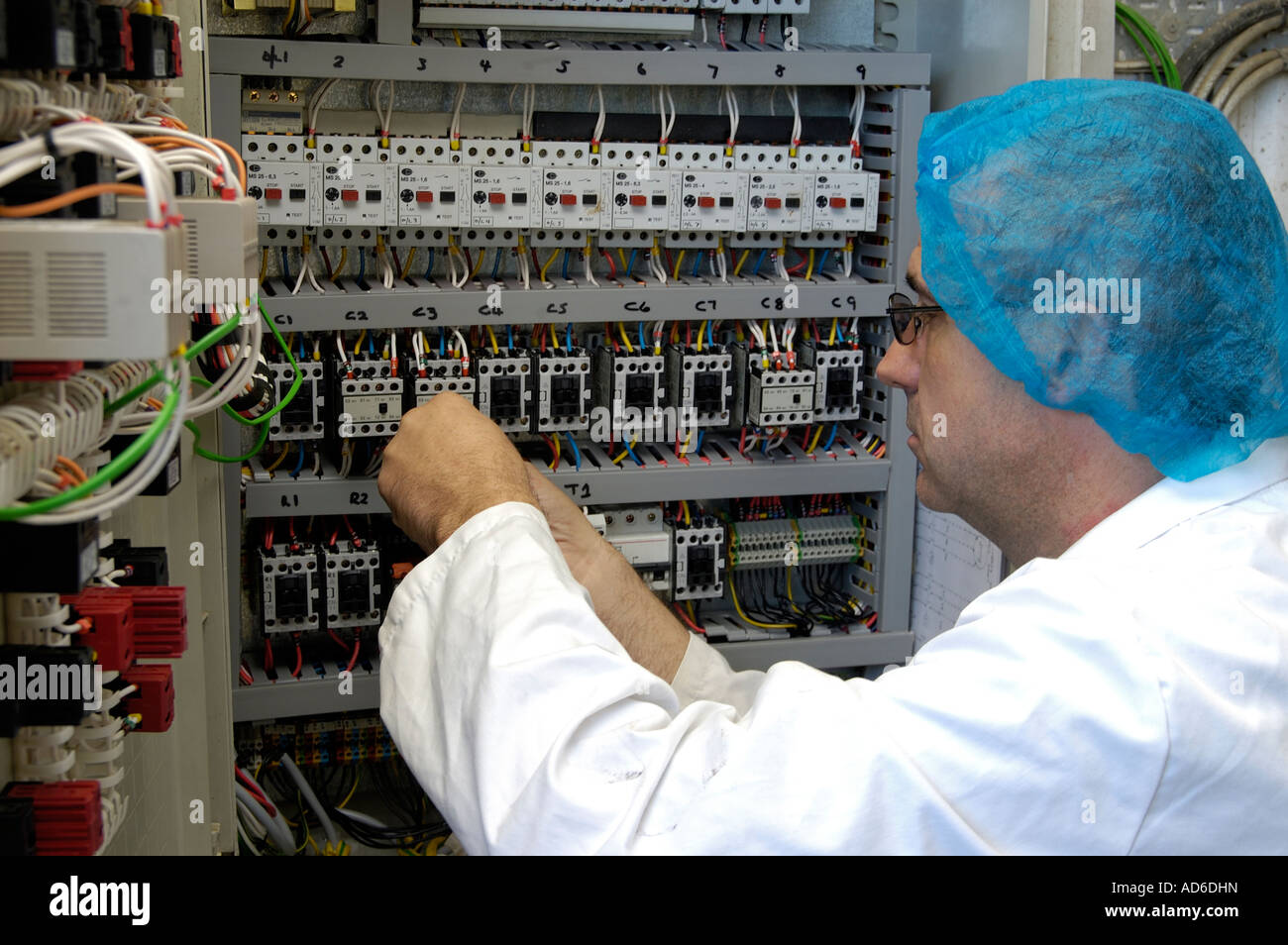 Dangerous Electrical Panel Stock Photos & Dangerous Electrical Panel ...