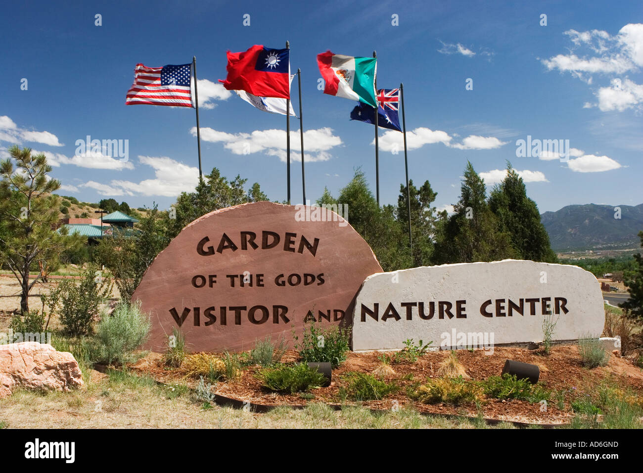 Garden Gods Visitor Center Stock Photos & Garden Gods Visitor Center ...