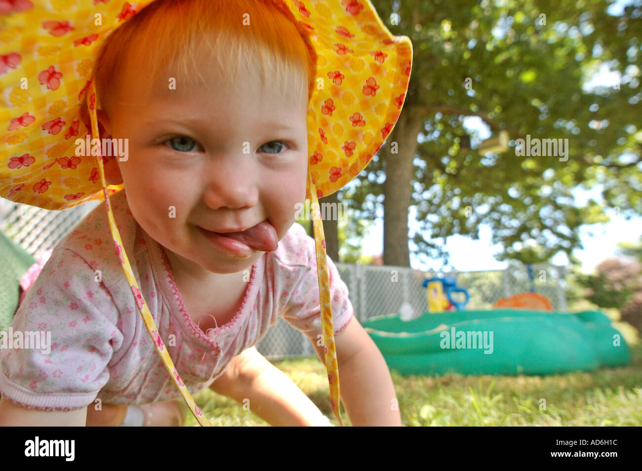 baby toddler child blue eyes blonde hair blond 1 one year