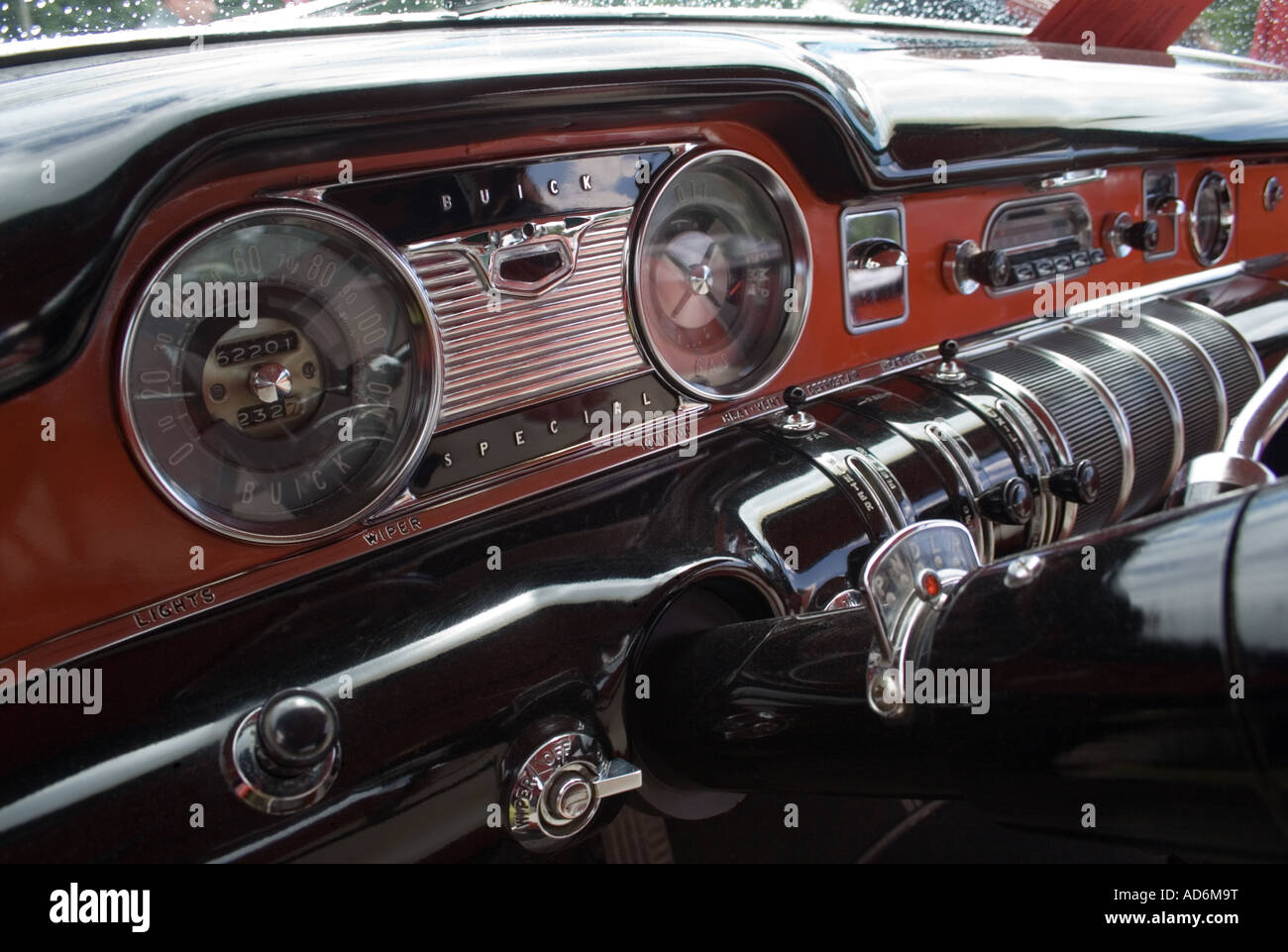 Dashboard Of A 1950s Buick Special Stock Photo 13322291