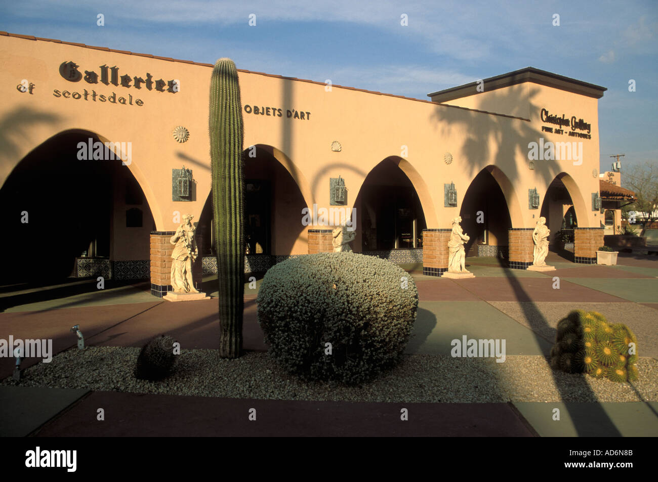 Art Gallery, Main Street, Old Town, Scottsdale, Arizona