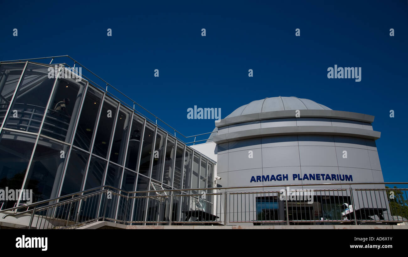 The Planetarium, Armagh Observatory in Armagh City, County Armagh, Ireland - Stock Image
