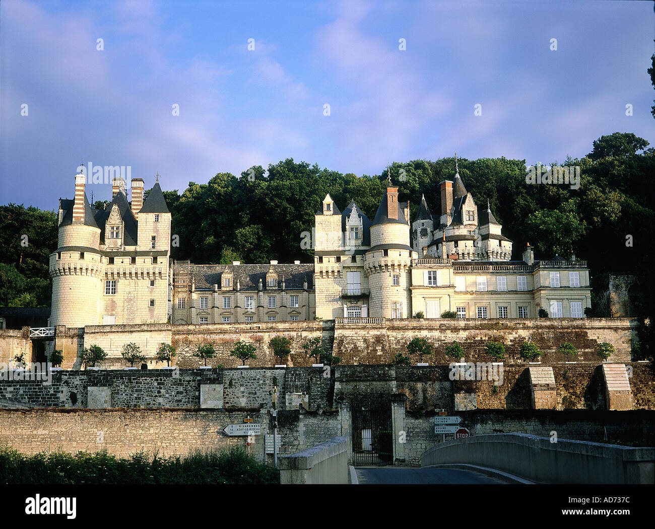 france touraine val de loire indre et loire 37 usse the castle on stock photo 881532 alamy. Black Bedroom Furniture Sets. Home Design Ideas