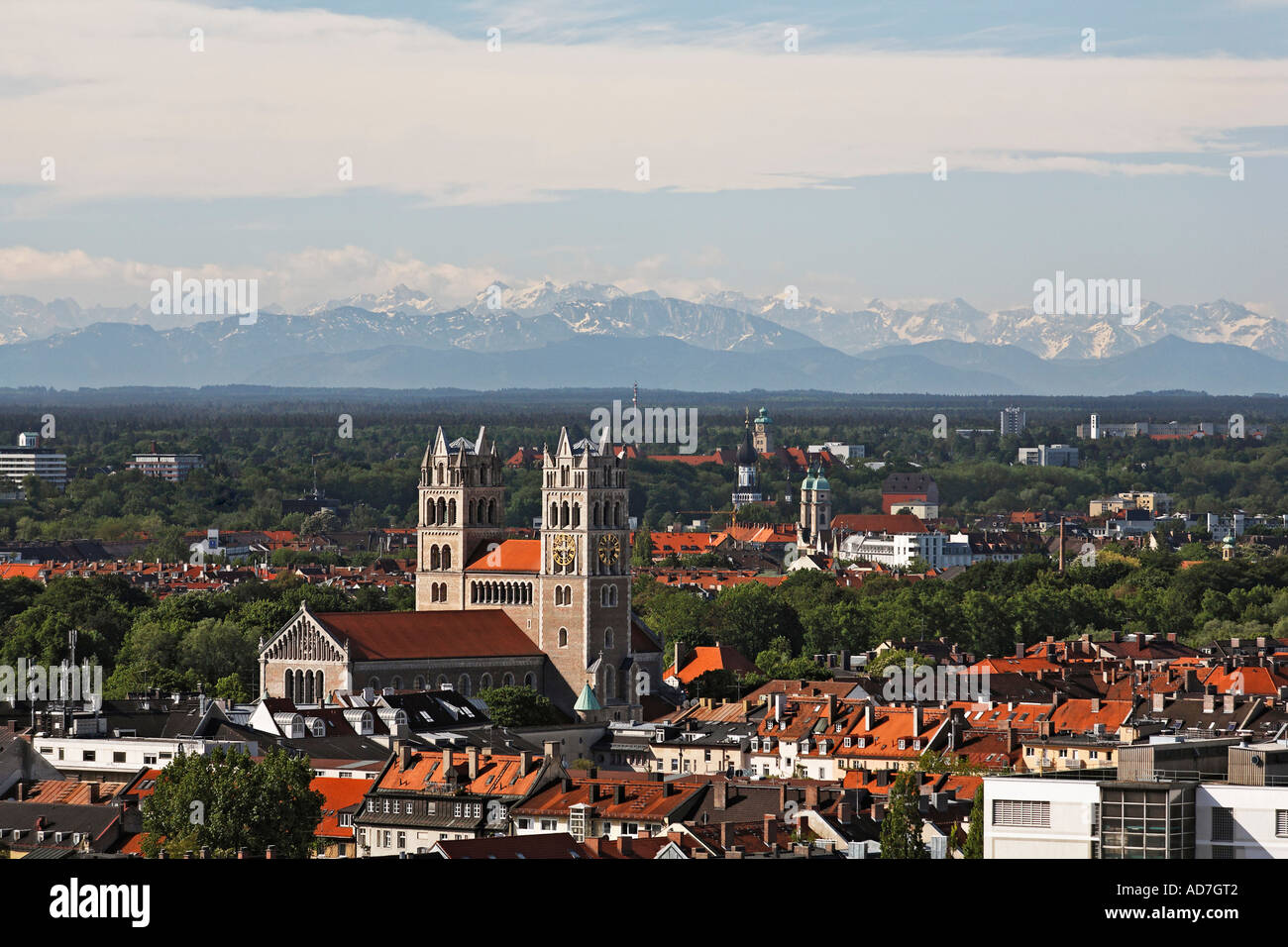 Munich And The Mountains