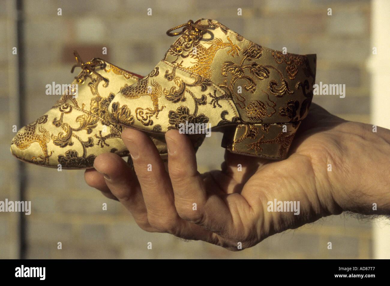 Chinese Custom Of Binding Feet Stock Photos Chinese Custom Of