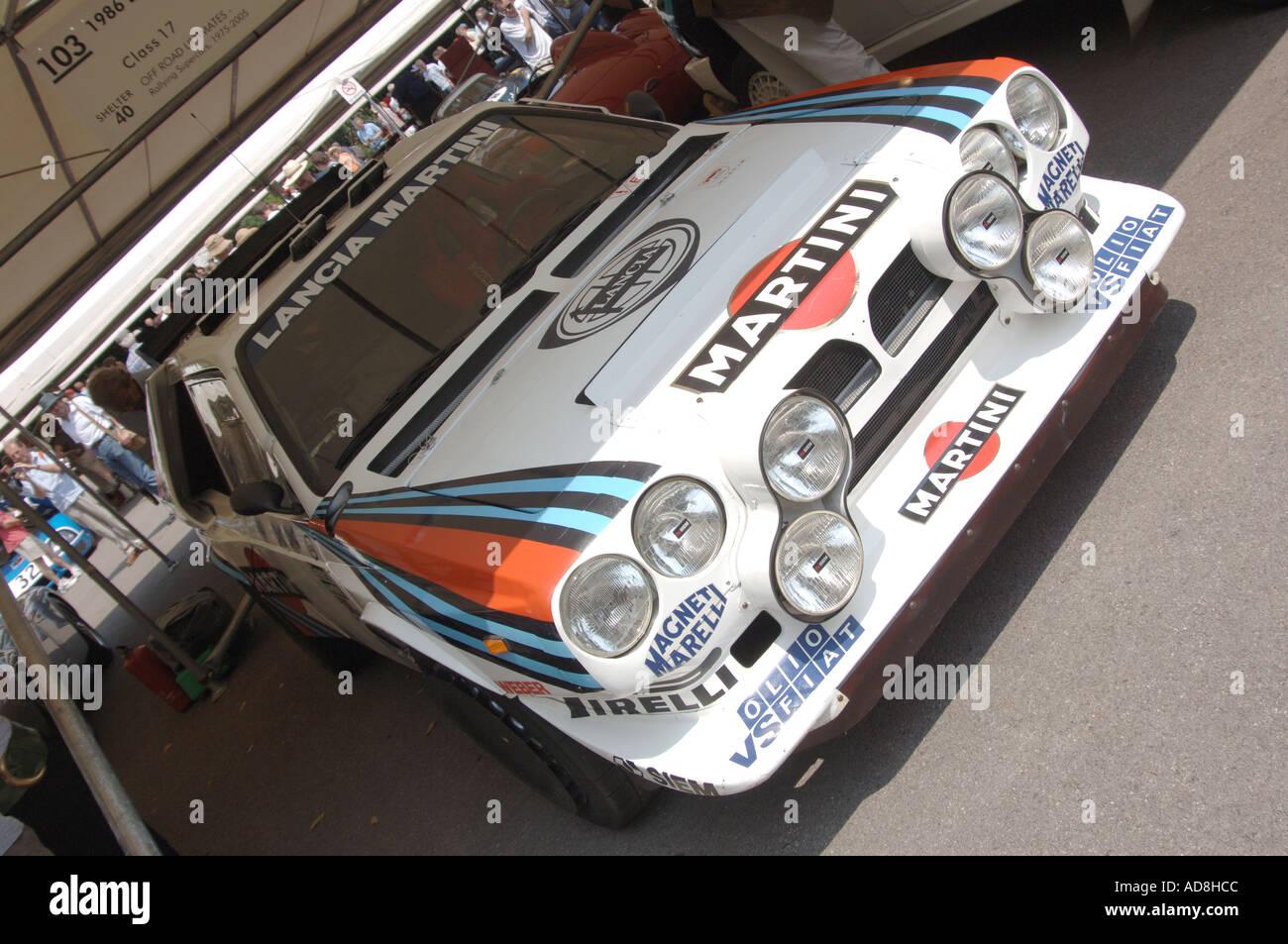 1986 Lancia Delta HF integrale at Goodwood Festival of Speed 2005 - Stock Image