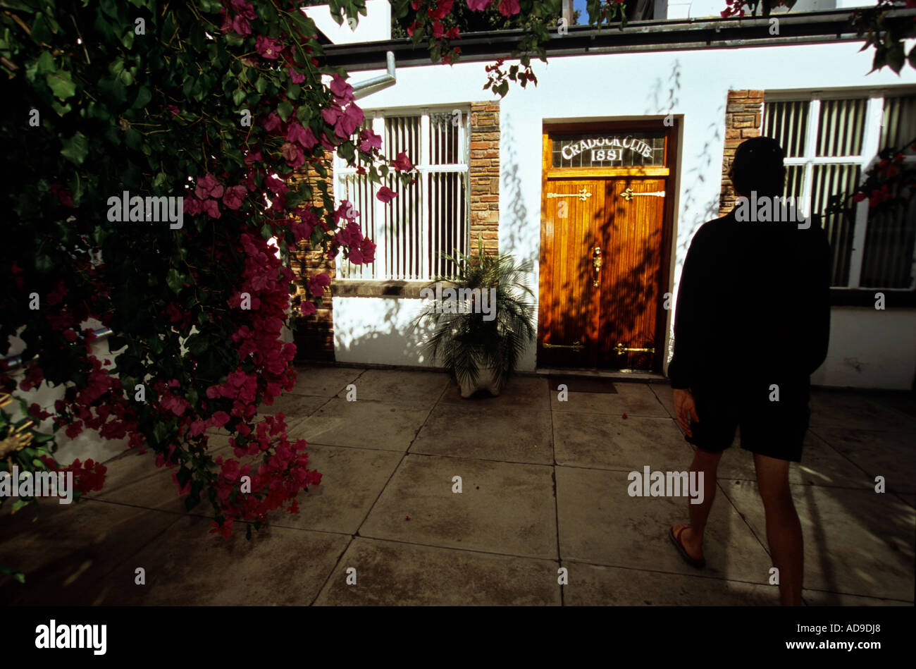Cradock club, Cradock, Eastern Cape, South Africa. - Stock Image