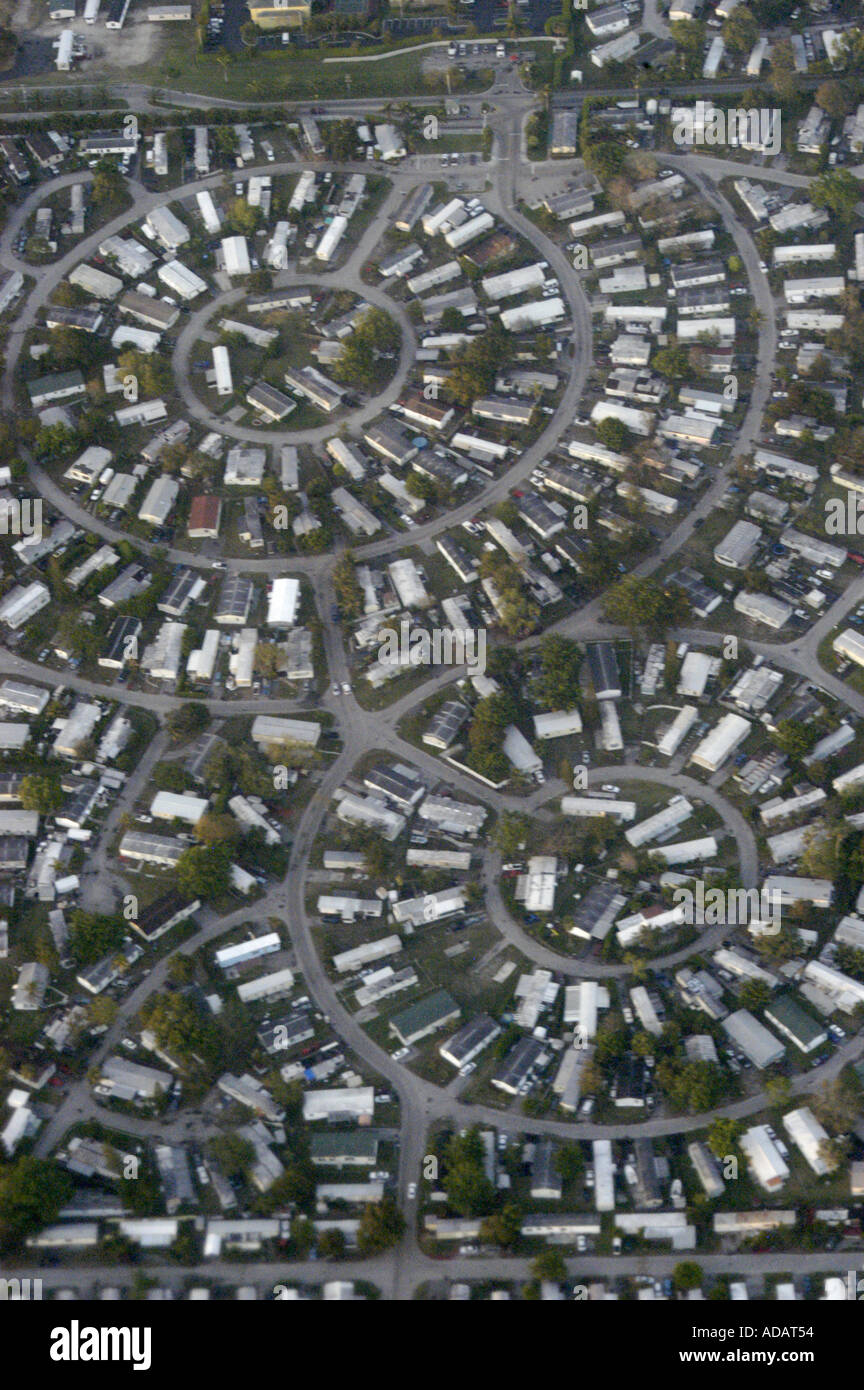 Fantastic Aerial View Of Mobile Home Park South Florida Stock Photo Download Free Architecture Designs Oxytwazosbritishbridgeorg