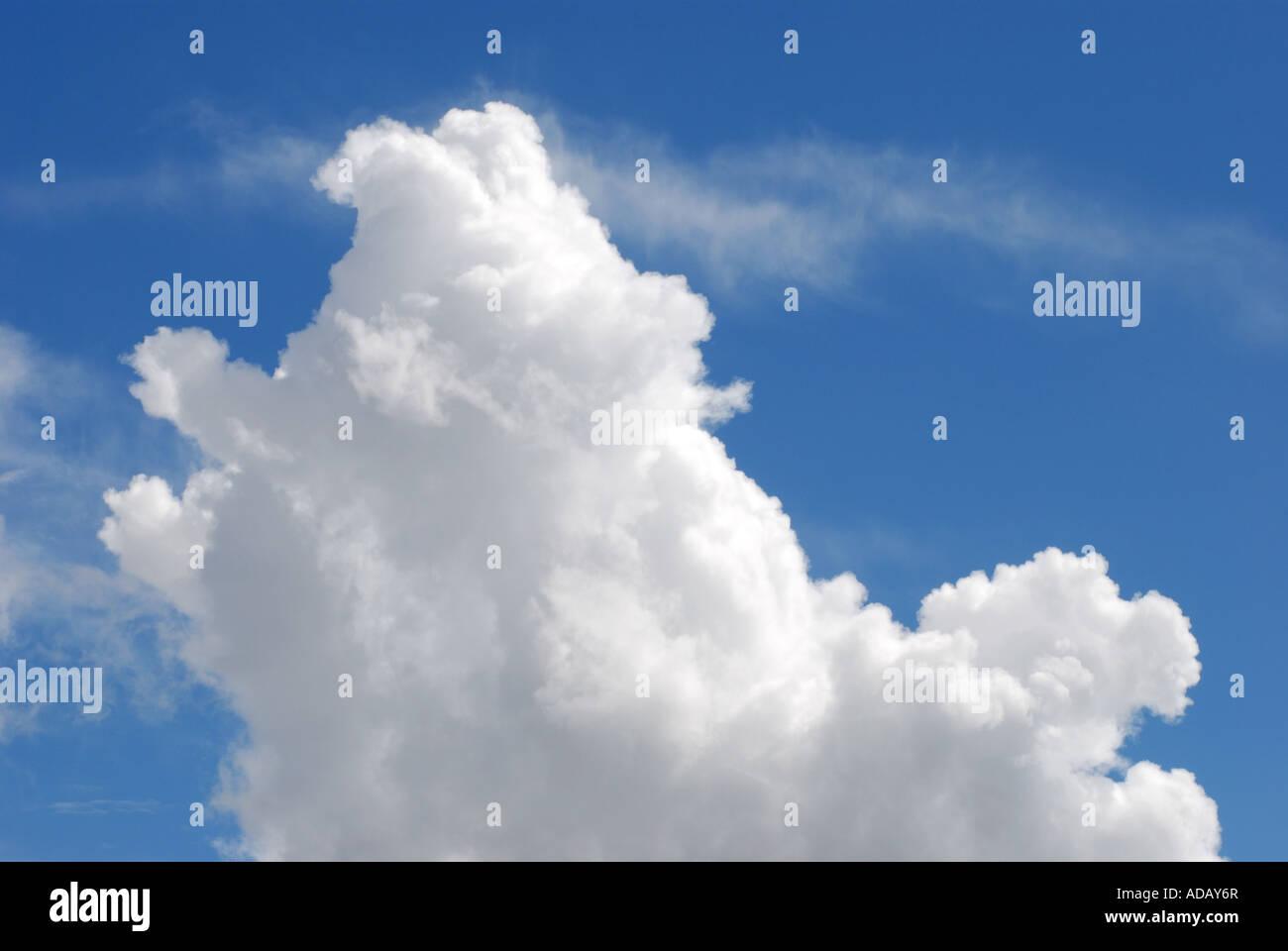 Cumulo nimbus clouds, UK - Stock Image