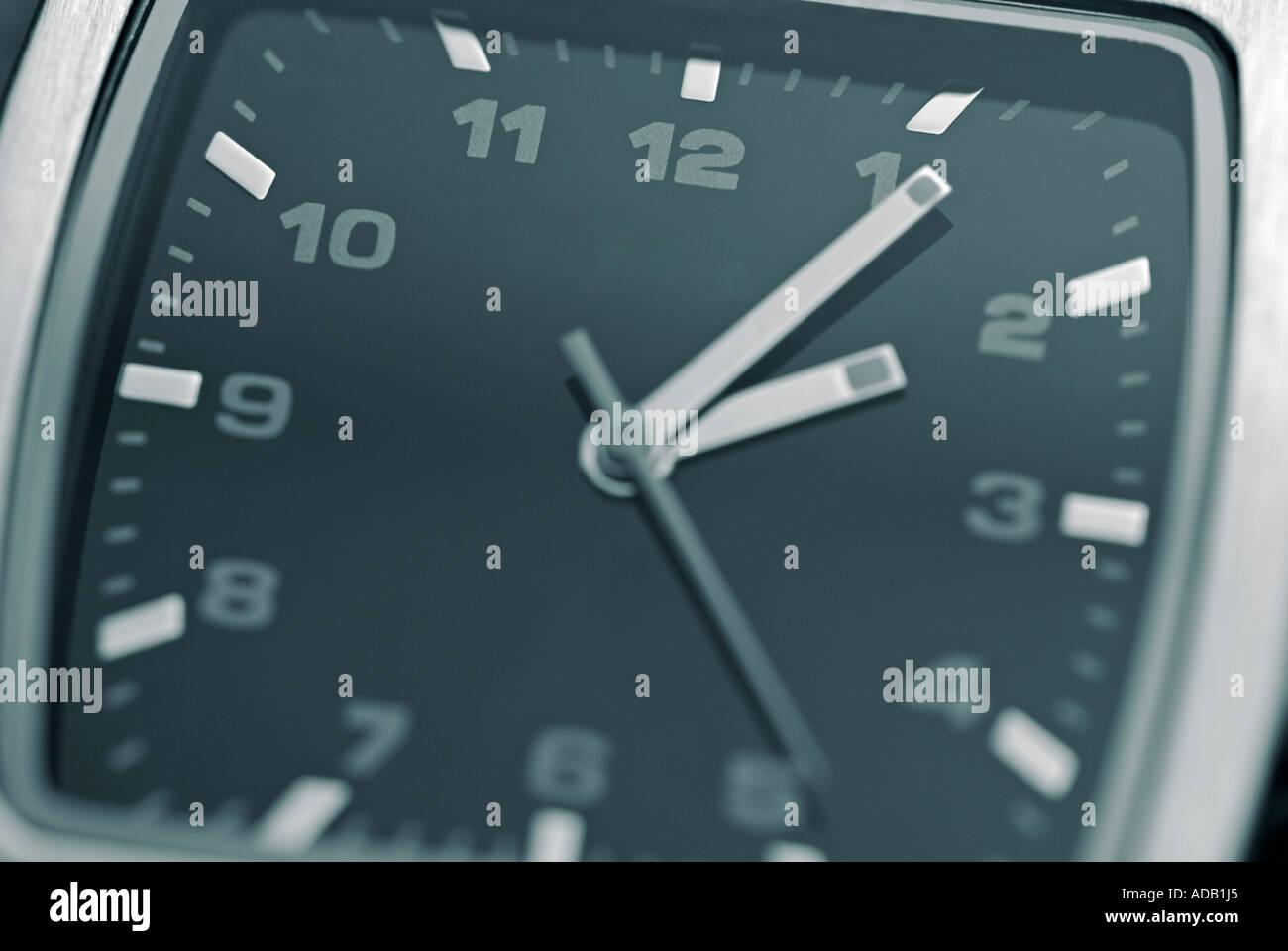 Wristwatch, Close Up. - Stock Image