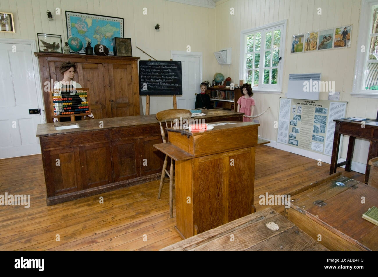 Rural Life Centre - Tilford - Surrey - UK - Classroom - Stock Image